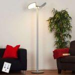 Aurela – LED-gulvlampe med drejelige elementer