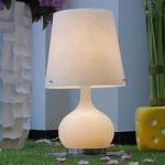 Hvid Ade bordlampe 58 cm