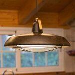Energieffektiv LED hængelampe Plec, IP44