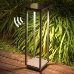 Solcelle LED sokkellampe Saura bevægelsessensor