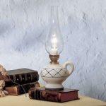 RUSTICO – Bordlampe i landhusstil