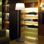 Passion design-standerlampe fra Fontana Arte, krom