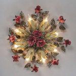 Florentinsk loftslampe Fiama med 8 lyskilder