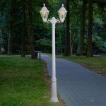 LED lysepæl Artu Rut 2 lyskilder E27 hvid