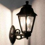 LED udendørsvæglampe Bisso Anna saltvandsresistent