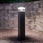 Ester 800 LED gadelampe, saltvandsresistent, sort