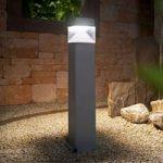 Ester 800 LED gadelampe, saltvandsresistent, grå