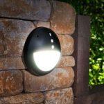 Udendørs væglampe Gelmi-EL LED saltvandsresistent