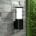 Udendørs LED-væglampe Carlo sort