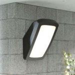 Udendørs væglampe Germana LED 14 W, sort