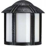 Sort Affra udendørs væglampe i herregårdsstil