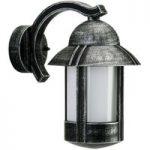 Sort Duretta udendørs væglampe i herregårdsstil