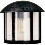 Sort Gerlin udendørs væglampe i herregårdsstil
