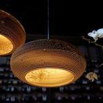 Disc – en økologisk hængelampe af pap