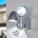 LED-vægspot RADIAL til udendørs brug
