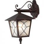 Nedad hængende udendørs væglampe ROBUSTE