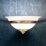 Storartet LED-væglampe TOLEDO