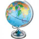 Bordlampe Warin i globusform