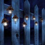 Solcelle lyskæde Lina med 8 lanterner