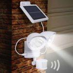 Maex – sensor solcellelampe til væggen 2 lyskilder