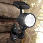 Solcelle udendørs væglampe Mawe