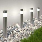 Solcelledrevet LED sokkellampe Reija, 4'er sæt