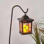 Dekorativ LED-solcellelampe Beata i sæt