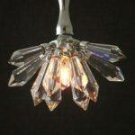 Skinnende LED-pendellampe Serenata Fiore
