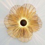 Blomstrende stor væglampe Tremolo