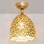 Girevole – en perforeret loftlampe