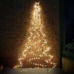 Højde 4 m – væg juletræ Fairybell®