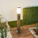 LED-vejlampe Luis med skumringssensor