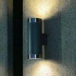 Udendørs væglampe Berlin m. 2 lyskilder i antracit