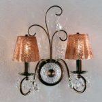 Rossella smagfuld væglampe