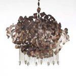 Smuk CORTEN LED-pendellampe, 65 cm