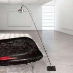 Max. Floor – LED designer standerlampe højglans