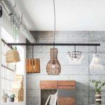 KARE Parecchi Art House hængelampe i bjælkeform