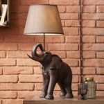 Bordlampe Elephant Safari