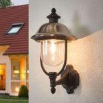 """Opret udendørs væglampe """"Parma"""", m. rustfrit dække"""
