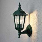 Opret udendørs væglampe Firenze S, i grøn