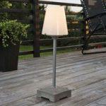 Elegant udendørs standerlampe New Lucca, 59 cm