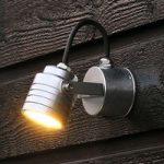Raffineret udendørs LED væglampe Monza 7903