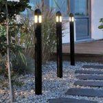 Alsidigt 3'er sæt LED-gadelampe Amalfi