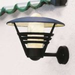 Udendørs væglampe Gemini 503-750, i sort