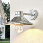 Dæmpbar udendørs LED væglampe Vega, i stål