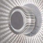 Udendørs Up & Down LED væglampe Monza, i alu, IP54
