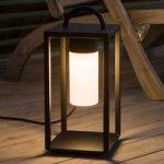 Dekorativ LED udendørs lanterne Bologna