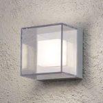 Transparent LED udendørs væglampe Sanremo – IP54