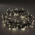 LED mikrolyskæde, varm hvid, med 80 lys, 10,5m