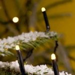 LED mikrolyskæde, varm hvid, med 200 lys, 41,84 m